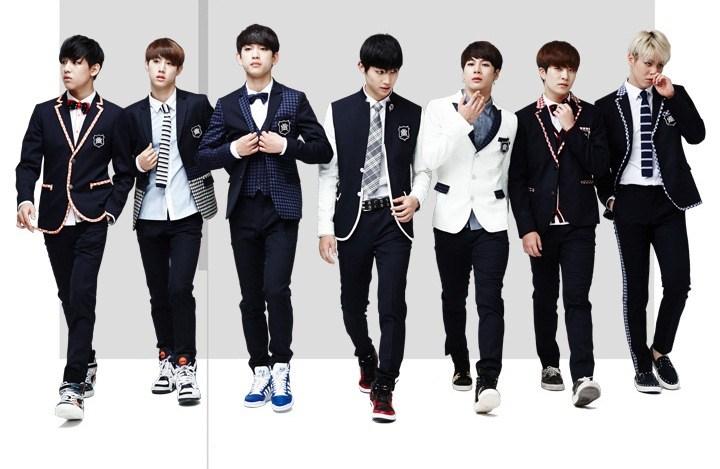 popular K-pop band
