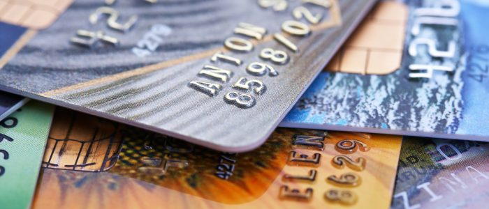 Master card and branded credit card