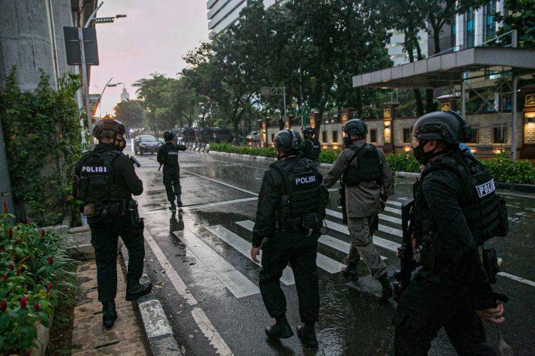 police in anti-crimes
