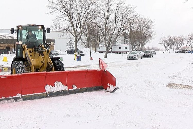 snow removal service from Earth Development